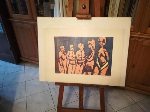 Vista completa della litografia.