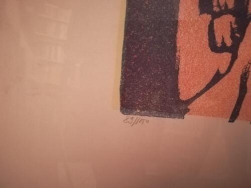 Numerazione della litografia.