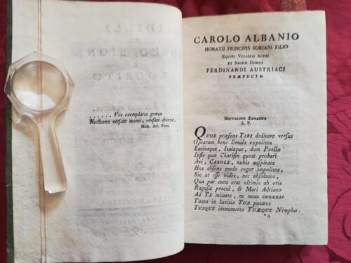 Pagina di Testo in Latino