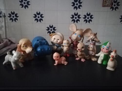 Immagine al dettaglio dei differenti personaggi.