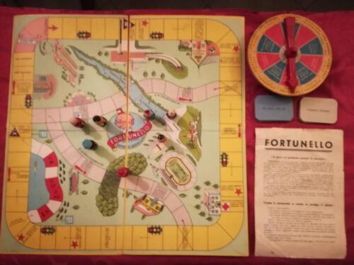 """Veduta dall'alto del gioco """"Fortunello""""."""