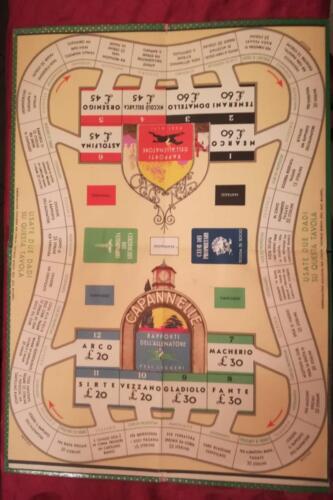 Altra immagine della seconda plancia di gioco capovolta.