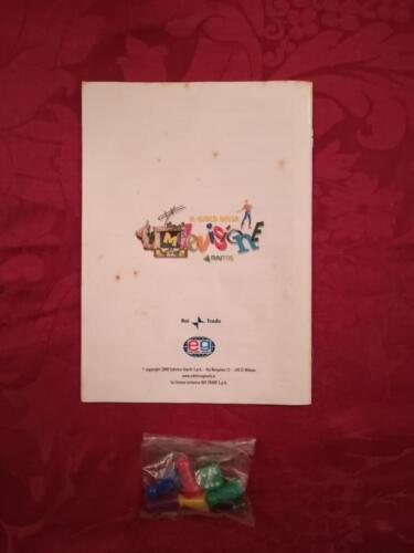 Retro regolamento con la marca Editrice Giochi e del vecchio logo della Rai 3 dove veniva trasmesso il programma.