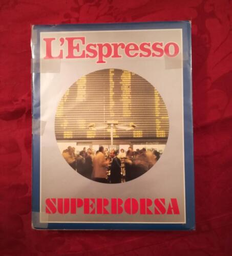 """Veduta del gioco """"Super Borsa"""" ,fasciato con la plastica , allegato del giornale """"Espresso""""."""