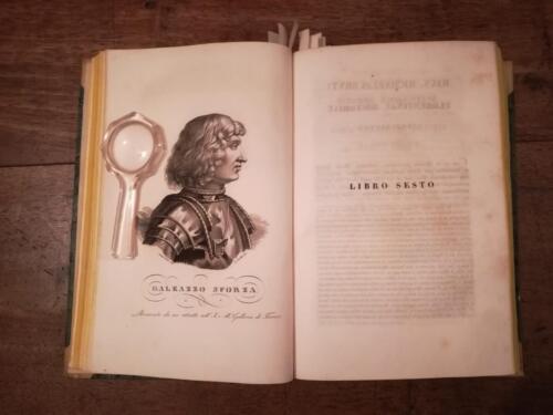 Veduta di alcune delle incisione di personaggi noti fiorentini.