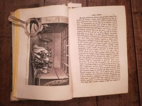 Una delle incisioni presenti nei due volumi.
