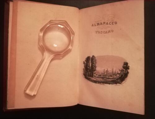 Antiporta con litografia uguale al precedente almanacco del 1847.