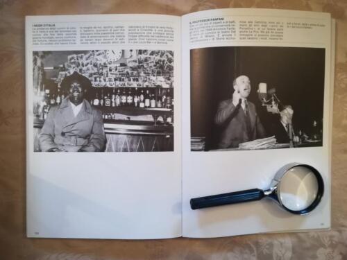Una delle tante illustrazioni di vecchie fotografie di Tullio Farabola  rappresentanti scene del dopoguerra, cinema, spettacolo...