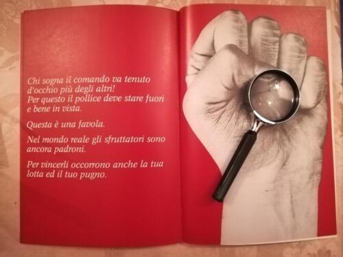 """Immagine illustrativa del """"pugno del comando""""."""