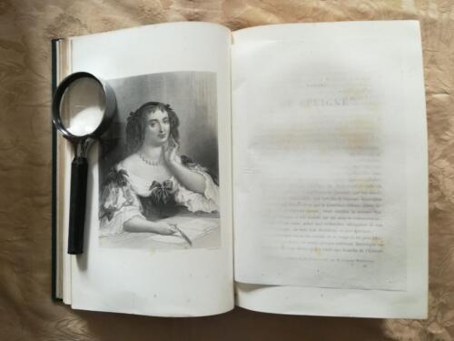Incisione di Madame De Sèvignè.