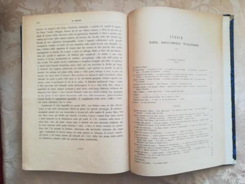 Indice secondo volume.