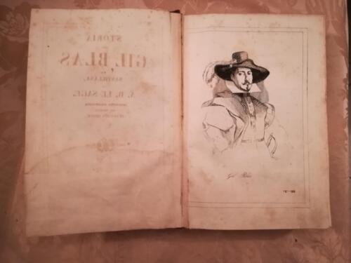Illustrazione del protagonista del romanzo Gil Blas.