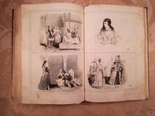Una delle tante illustrazioni dei personaggi e le vicende del romanzo.