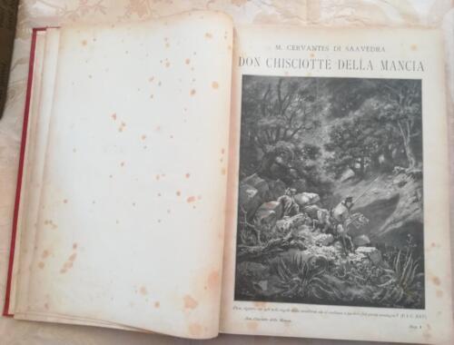 Una delle 120 incisioni di Gustavo Dorè, presente nel primo volume.
