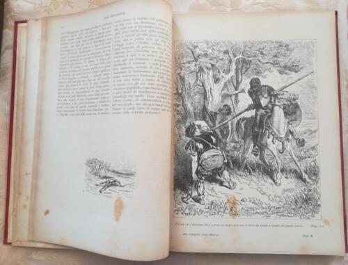 Una delle 120 incisioni di Gustavo Dorè ,presente nel primo volume.
