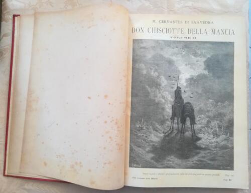 Una delle tante incisioni di Gustavo dorè che presenta il secondo volume del romanzo.
