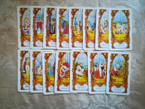Veduta delle carte, in stato di nuovo ,dalla numero 1 alla 15.