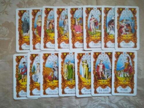 Veduta delle carte, in stato di nuovo, dalla numero 16 alla 30.