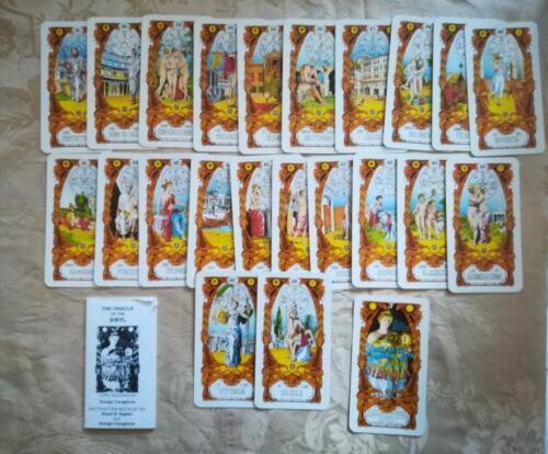 Veduta delle carte dalla 31 alla 52 totali più 1 e del libretto di istruzioni.