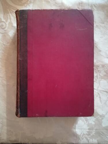 Legatura rossa del libro.