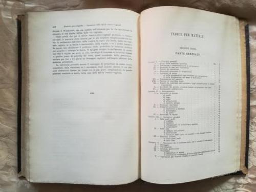 Fine del manuale ed inizio degli indici riguardanti capitoli, immagini ed argomento.