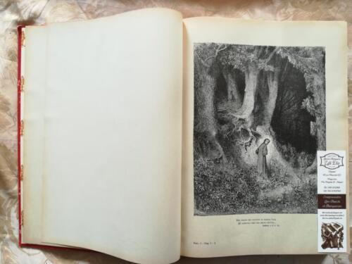 Prima illustrazione di Gustavo Dorè raffigurante Dante smarrito nella selva oscura.