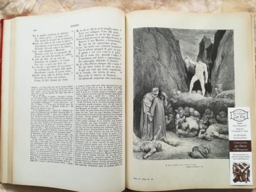 Una delle tante incisioni dell' Inferno Dantesco di Gustavo Dorè.