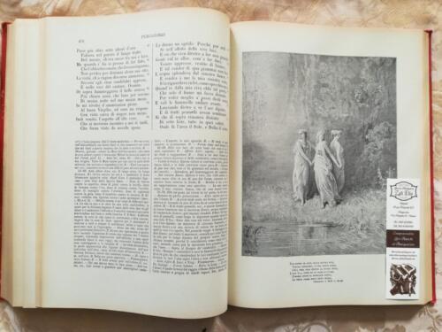 Una delle tante incisioni del Purgatorio Dantesco di Gustavo Dorè.