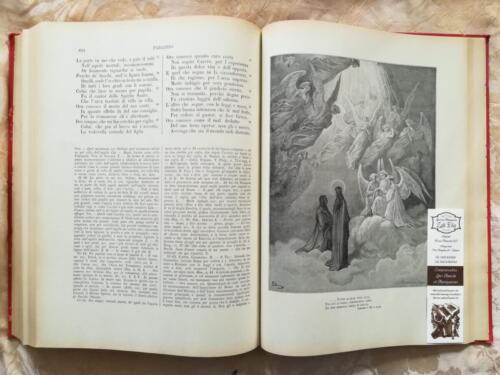 Una delle tante incisioni del Paradiso Dantesco di Gustavo Dorè.