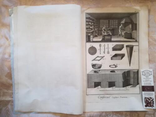 Prima Tavola : Tavola di utensili da confettura e dei forni.