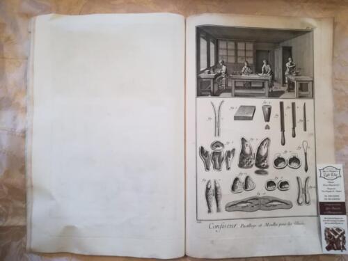 Quarta Tavola : Tavola di utensili e di decorazione pasticcera con stampi e modelli in metallo per le glasse e i dolci.