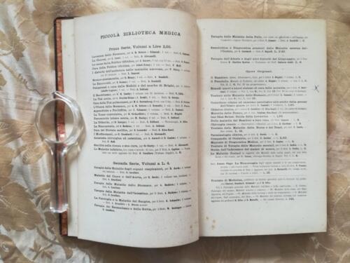 """Altri libri di medicina a cura degli editori della """"Piccola Biblioteca Medica""""."""