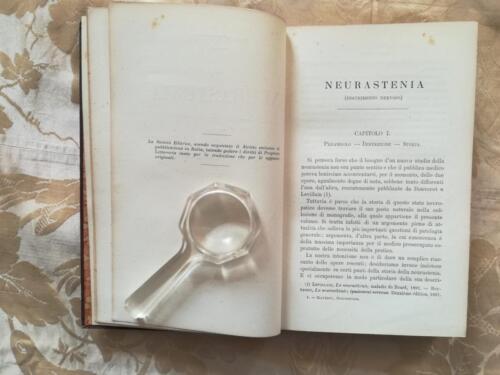"""Capitolo I. Neurastenia (esaurimento nervoso)""""Preambolo - Definizione - Storia."""""""