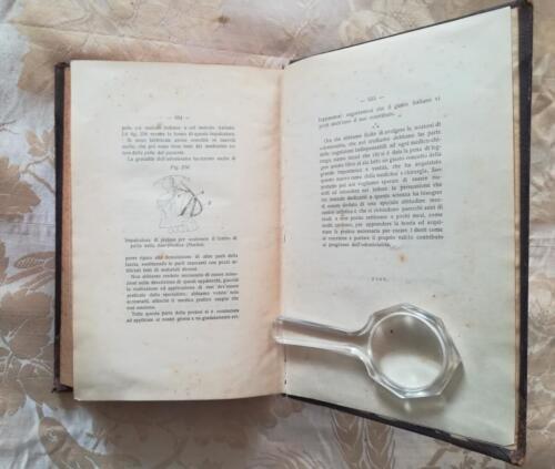 Figura 256.Impalcatura di platino per sostenere il lembo nella rino-plastica(Martin).Fine del libro.