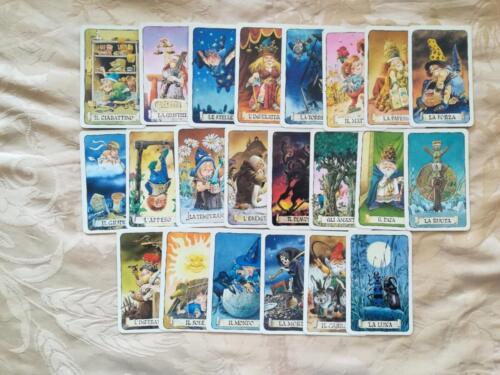 Belle carte dei 22 tarocchi in ottimo stato.