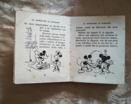 Veduta delle condizioni e delle illustrazioni presenti nel fumetto.