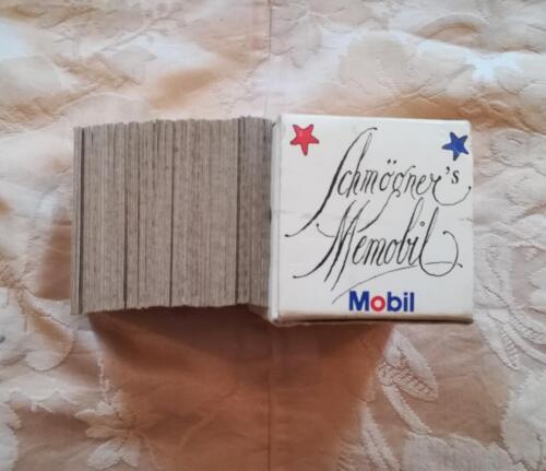 Veduta dei lati delle carte in stato ottimale e veduta della firma di Walter Schmogner.