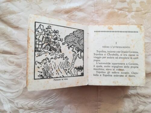 Veduta del capitolo 1 del racconto e delle condizioni del fumetto.