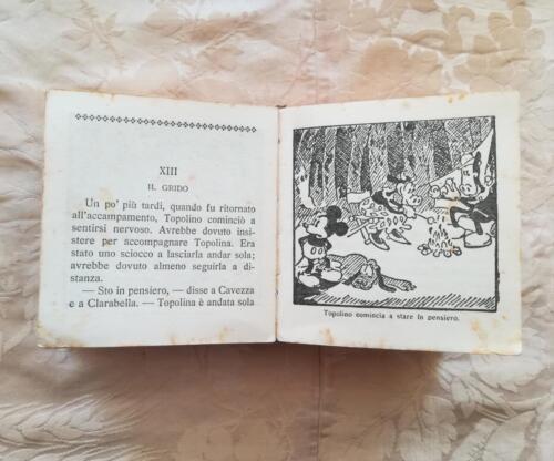 Veduta di qualche vignetta presente nel racconto e delle condizioni del fumetto.