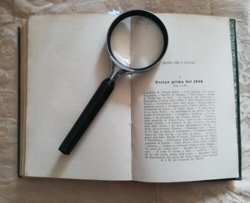 Indice del primo volume.