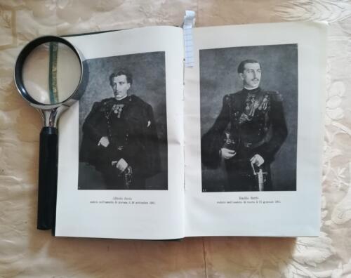 Tavole dei figli di Olimpia Savio poste in antiporta.