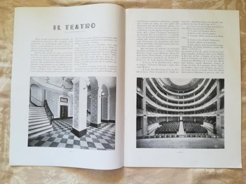 Storia del teatro  e vedute di esso.