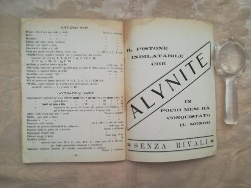 Un altro sponsor dedicato ad Alynite e fine del listino prezzi.