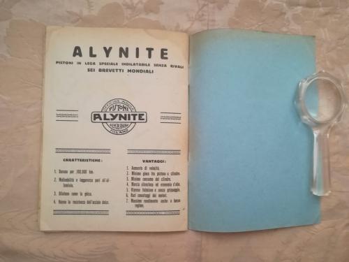 Caratteristiche e vantaggi dei pistoni Alynite e fine del listino.