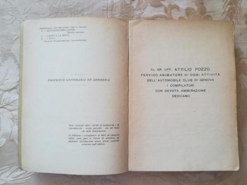 Casa editrice e dedica ad Attilio Pozzo.