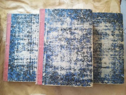 Veduta delle condizioni delle tre legature del libro.