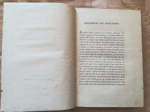 Descrizione del Purgatorio.