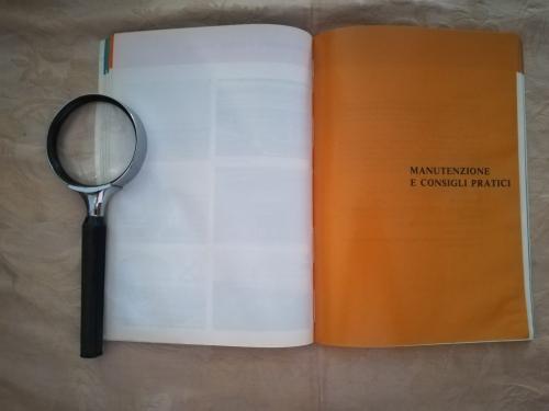 """Terzo Capitolo: """"Manutenzioni e consigli pratici""""."""