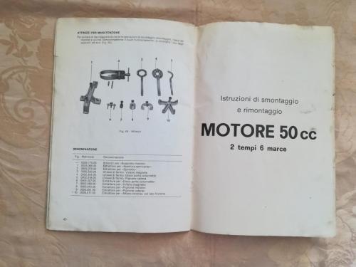 Istruzioni di smontaggio e rimontaggio del Motore 50 cc 2 tempi 6 marce.