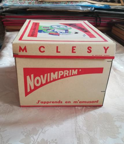 Altro lato della scatola del Novimprim.